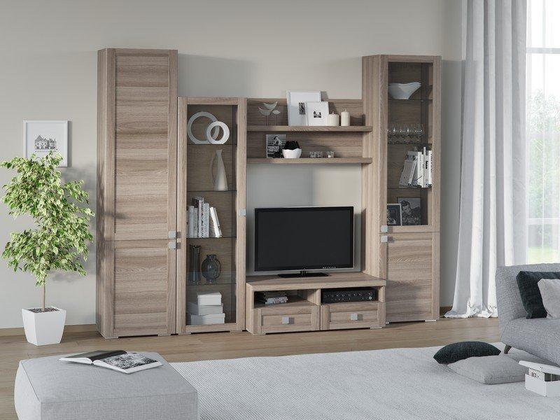Модульная гостиная Корсика Композиция 3 модульная мебель композиция 7 б
