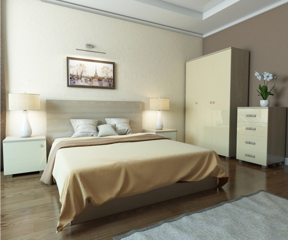 Модульная спальня Аврора-2 модульная спальня уют