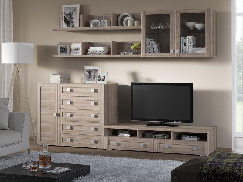 Модульная гостиная Корсика Композиция 11 модульная мебель композиция 7 б