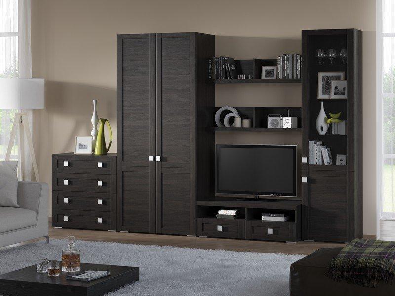 Модульная гостиная Корсика Композиция 12 модульная мебель композиция 7 б