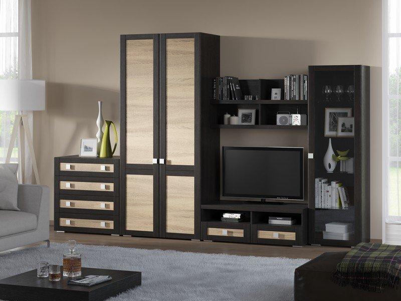 Модульная гостиная Корсика Композиция 13 модульная мебель композиция 7 б