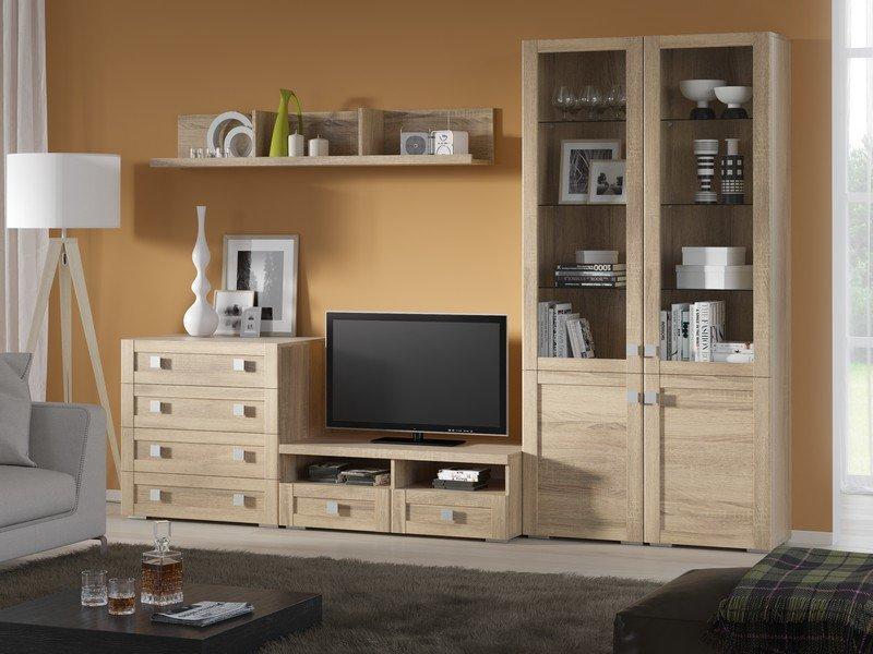 Модульная гостиная Корсика Композиция 14 модульная мебель композиция 7 б