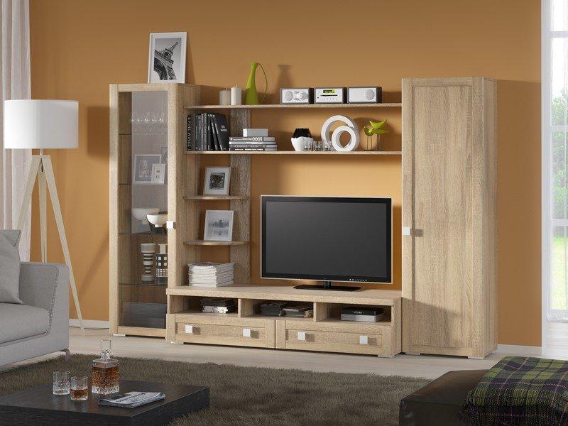 Модульная гостиная Корсика Композиция 6 модульная мебель композиция 7 б