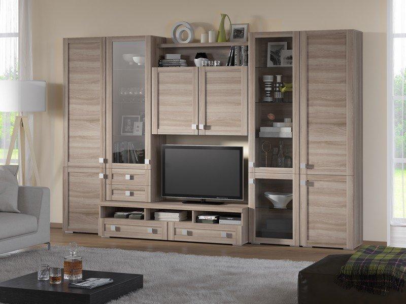 Модульная гостиная Корсика Композиция 7 модульная мебель композиция 7 б