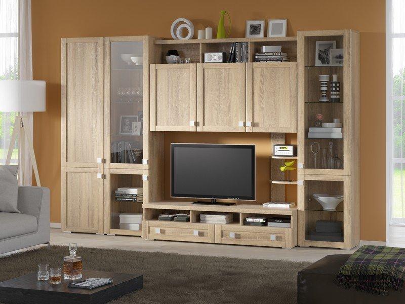 Модульная гостиная Корсика Композиция 10 модульная мебель композиция 7 б