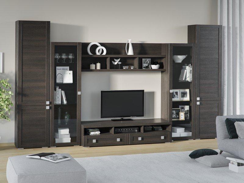 Модульная гостиная Корсика Композиция 4 модульная мебель композиция 7 б