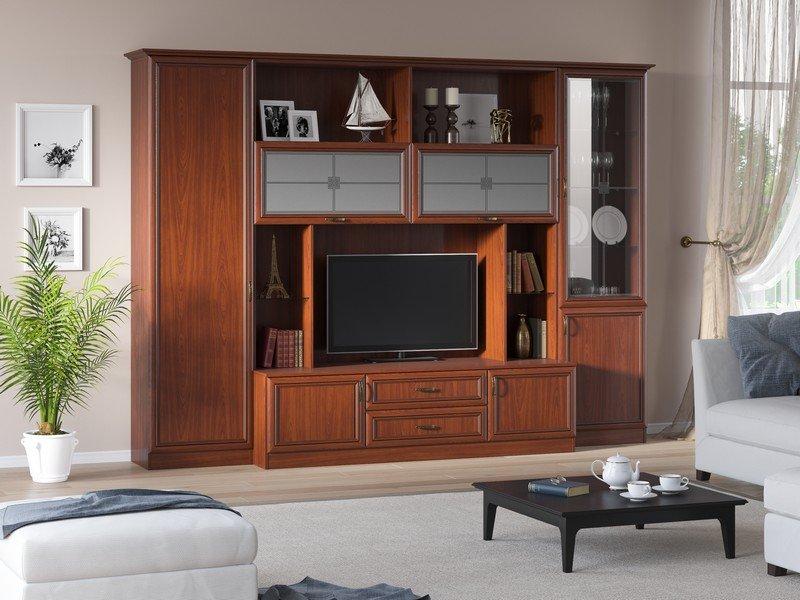 Модульная гостиная Ника Композиция 1 модульная мебель композиция 7 б