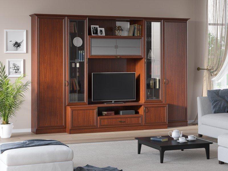 Модульная гостиная Ника Композиция 3 модульная мебель композиция 7 б