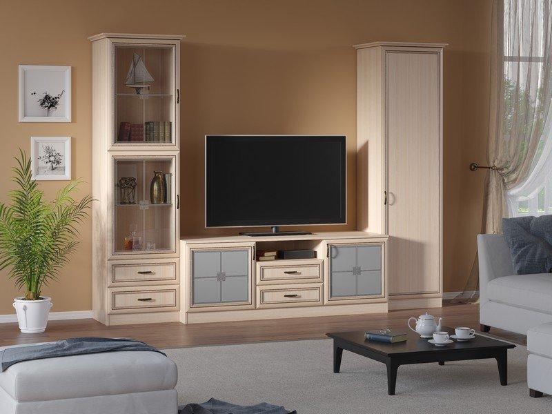 Модульная гостиная Ника Композиция 4 модульная мебель композиция 7 б