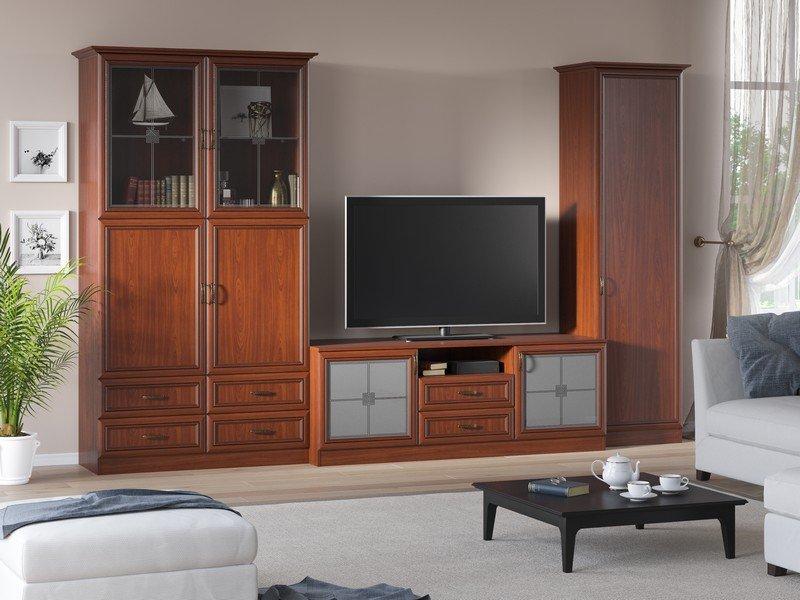Модульная гостиная Ника Композиция 5 модульная мебель композиция 7 б