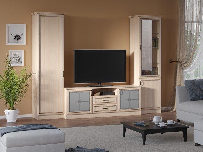 Модульная гостиная Ника Композиция 6 модульная мебель композиция 7 б