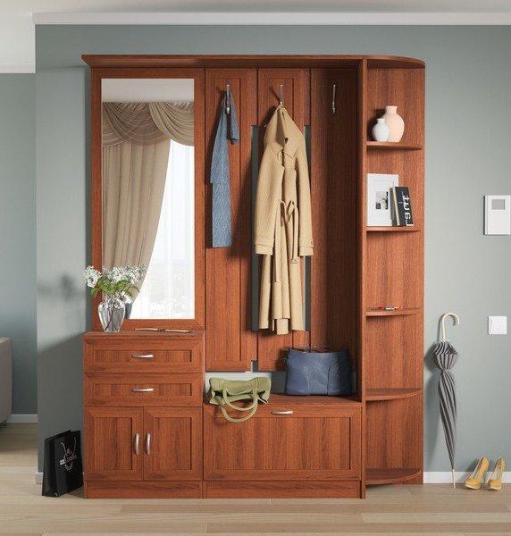 Модульная прихожая Алена Композиция 3 модульная мебель композиция 7 б