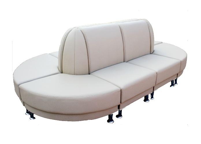 Модульный диван 10.09 вариант-2Офисные диваны<br>Размер: 262х142 В88<br><br>Механизм: Нераскладной<br>Каркас: Деревянный<br>Полный размер (ДхГхВ): 262х142х88<br>Доступны другие размеры: Возможно<br>Наполнитель: ППУ высокой плотности (Пенополиуретан)<br>Примечание: Стоимость указана по минимальной категории ткани<br>Изготовление и доставка: 6-10 дней, дни доставок среда и суббота<br>Условия доставки: Бесплатная по Москве до подъезда<br>Условие оплаты: Оплата наличными при получении товара<br>Доставка по МО (за пределами МКАД): 30 руб./км<br>Доставка в пределах ТТК: Доставка в центр Москвы осуществляется ночью, с 22.00 до 6.00 утра<br>Подъем на грузовом лифте: 700 руб.<br>Подъем без лифта: 350 руб./этаж включая первый<br>Сборка: 300 руб. Требуется монтаж опор<br>Гарантия: 12 месяцев<br>Производство: Россия<br>Производитель: МДВ