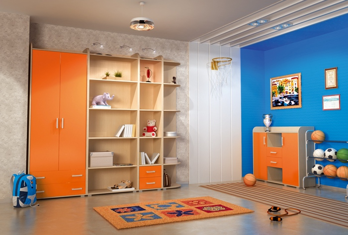 Детская комната Фрея Комплектация №2 детская комната мдк 4 13 комплектация 2
