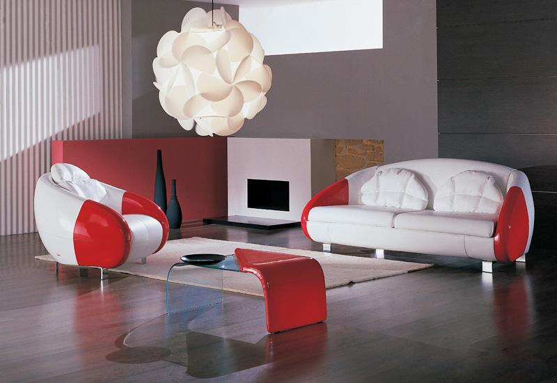 Комплект мягкой мебели Аква LAVSOFA Фиеста Размер: диван: 217х95 В90 (сп. м. 130х190), кресло: 100х95 В90