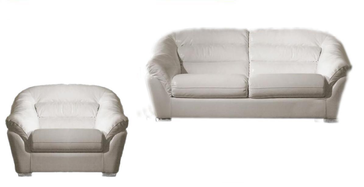 Комплект мягкой мебели Мира LAVSOFA Фиеста Размер: диван: 214х109 В95; кресло: 120х109 В95