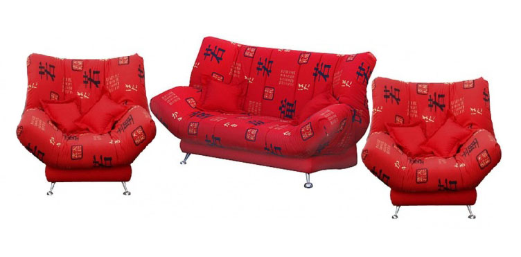 Комплект мягкой мебели Самурай Утин Размер: диван: 210х105 В103 (сп. м. 140х210), кресло: 140х105 В103