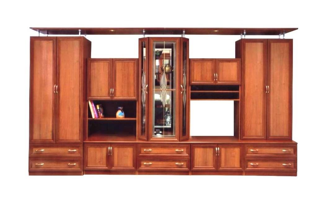 Набор корпусной мебели КардиналСтенки<br>Размер: 4000х2170х520<br><br>Материалы: ЛДСП, рамка МДФ, стекло<br>Полный размер (ДхВхГ): 4000х2170х520<br>Ниша под ТВ: 760х600<br>Примечание: Ручки пластиковые в цвет мебели!<br>Изготовление и доставка: 8-10 дней<br>Условия доставки: Бесплатная по Москве до подъезда<br>Условие оплаты: Оплата наличными при получении товара<br>Доставка по МО (за пределами МКАД): 30 руб./км<br>Доставка в пределах ТТК: Доставка в центр Москвы осуществляется ночью, с 22.00 до 6.00 утра<br>Подъем на грузовом лифте: 800 руб.<br>Подъем без лифта: 400 руб./этаж<br>Сборка: 10% от стоимости изделия<br>Гарантия: 12 месяцев<br>Производство: Россия<br>Производитель: Mebelus