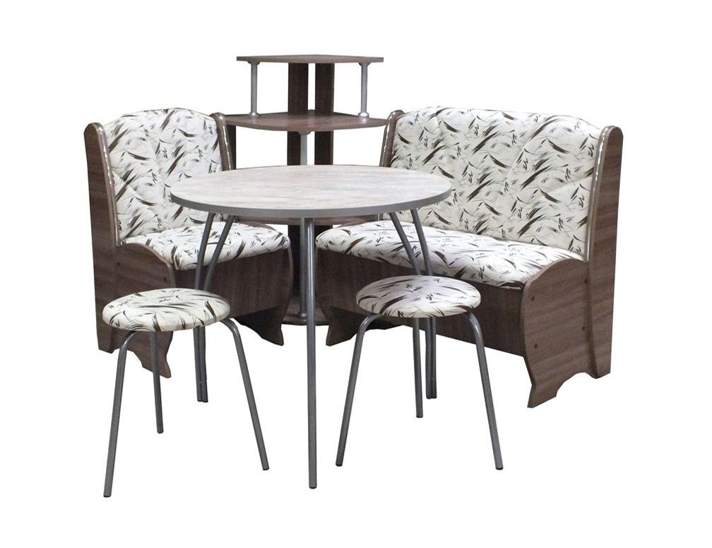 Набор мебели Блюз с круглым столом МК Премиум