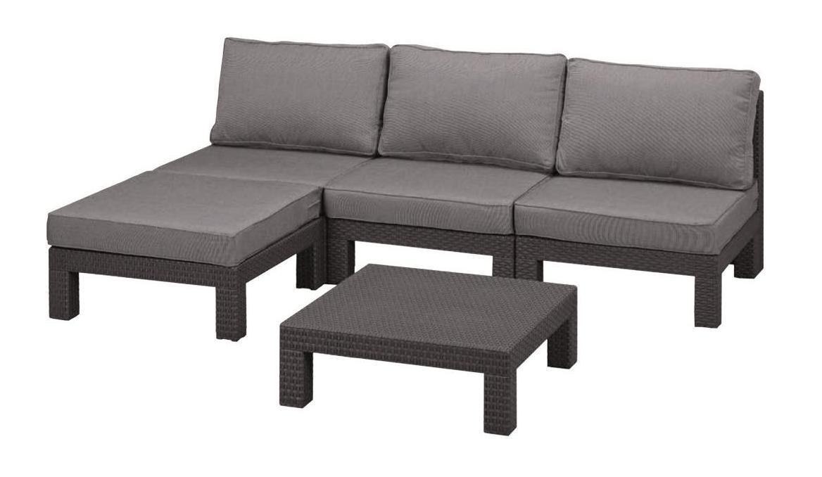 Комплект пластиковой мебели Nevada