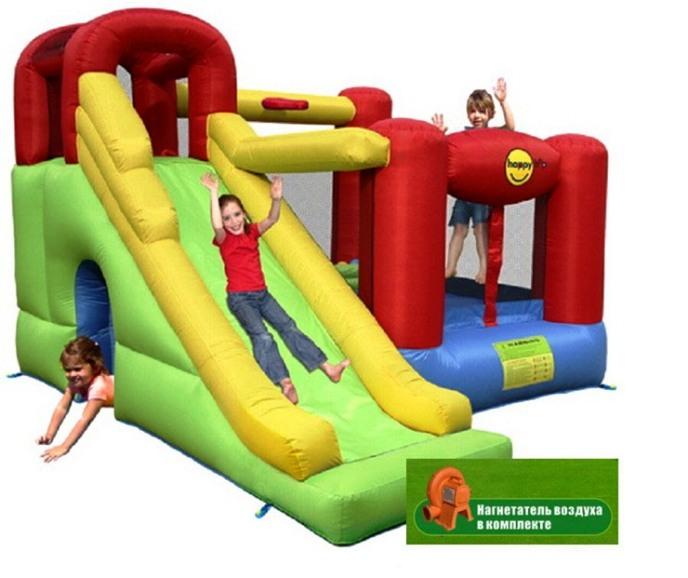 Купить Надувной Игровой Центр 6 В 1 9060 Happy Hop