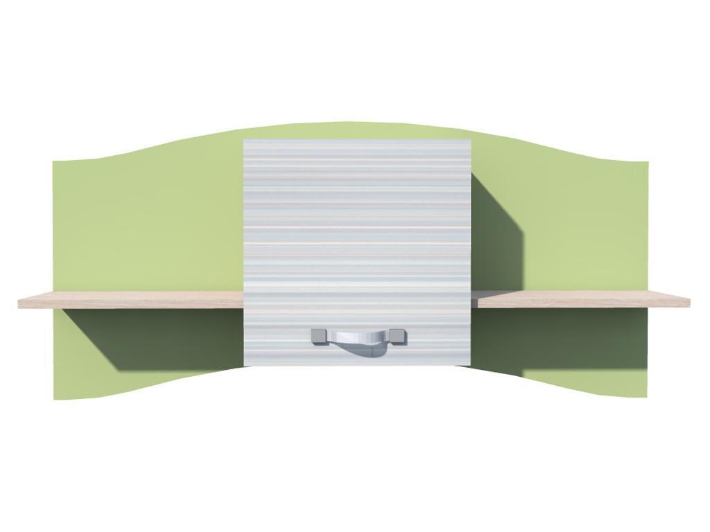 Полка навесная Модерн НМ 9.20-01 полка навесная сканд мебель шервуд пш 03