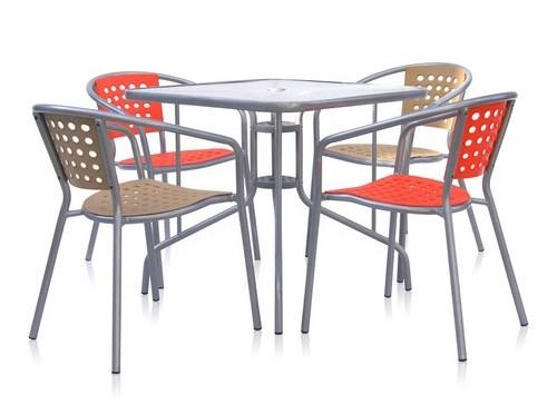 Комплект садовой мебели ХRB-042А/C-D80x80