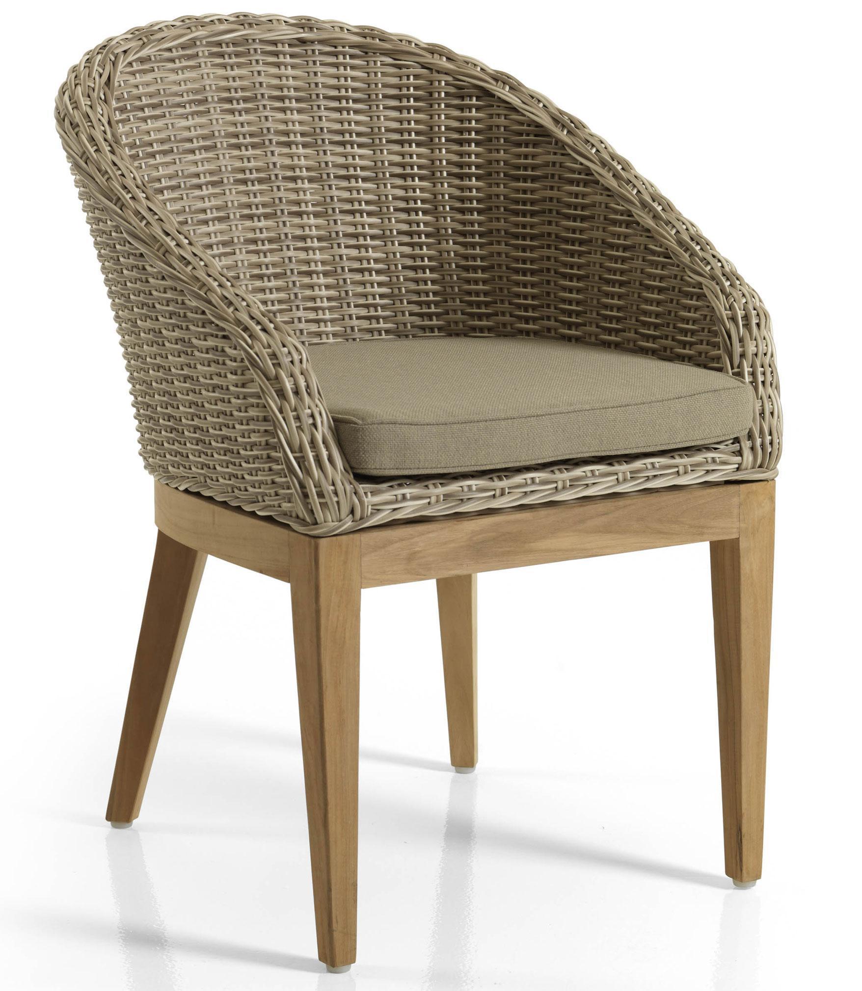 Обеденный стул OntarioПлетеная мебель из искусственного ротанга<br>Размер: 60х78 В43<br><br>Артикул: 10580-51-23<br>Материалы: Искусственный ротанг<br>Каркас: Алюминиевый<br>Полный размер: 60х78 В43<br>Комплектация: Подушки<br>Цвет: Светло-бежевый<br>Изготовление и доставка: 2-3 дня<br>Условия доставки: Бесплатная по Москве до подъезда<br>Условие оплаты: Оплата наличными при получении товара<br>Гарантия: 12 месяцев<br>Производство: Швеция<br>Производитель: Brafab