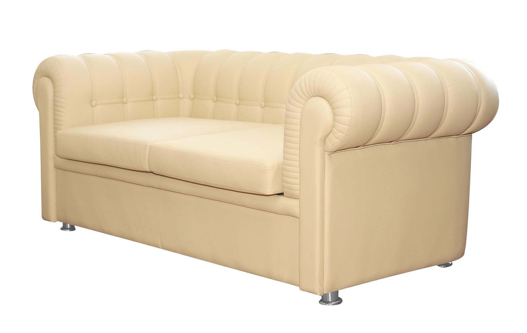 Офисный диван Честер-2-3 хром