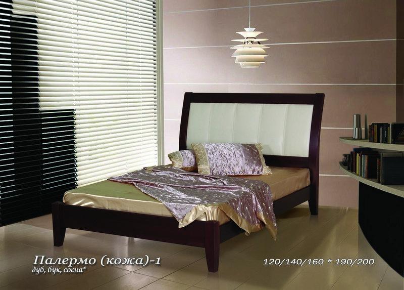 Кровать Палермо-кожа стенка палермо 12
