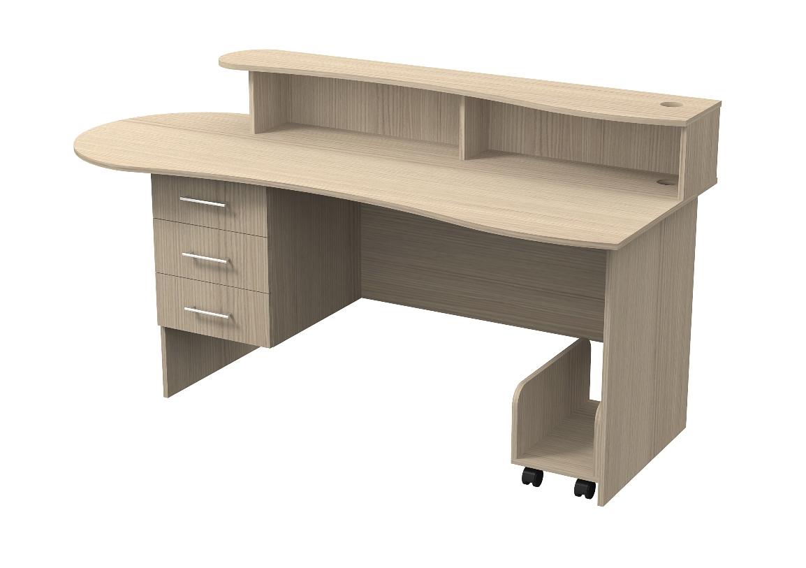 Письменный стол Акцент-4 письменный стол кварт