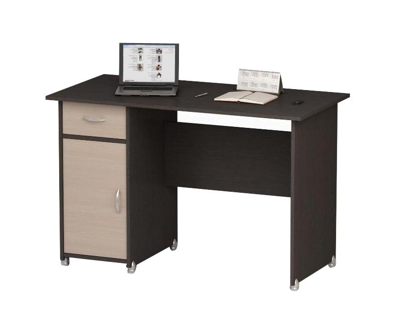 Письменный стол ПС 40-08м1 письменный стол двухтумбовый пс 40 07 венге шатура столы и стулья
