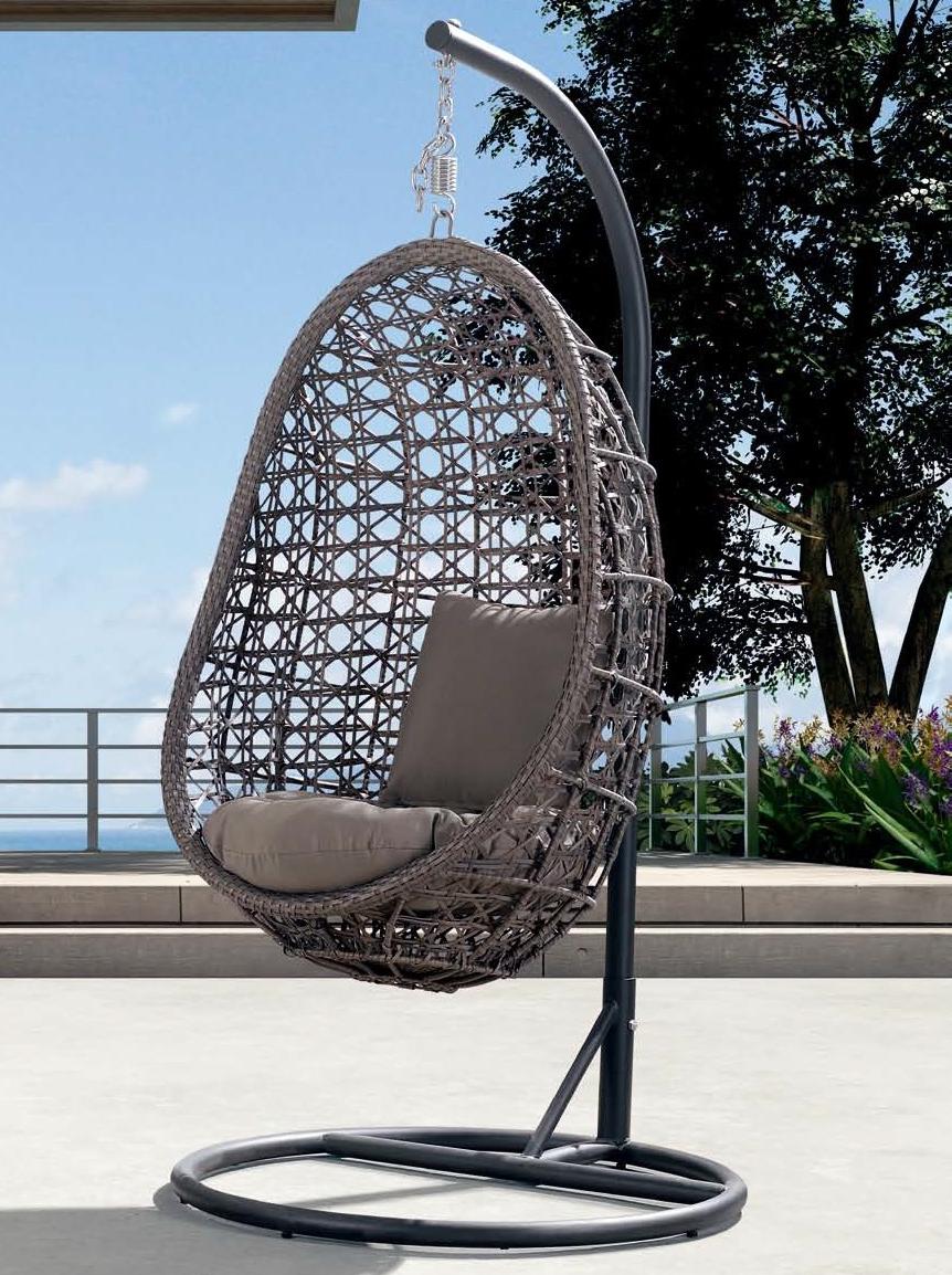 Плетеное подвесное кресло Флоренция