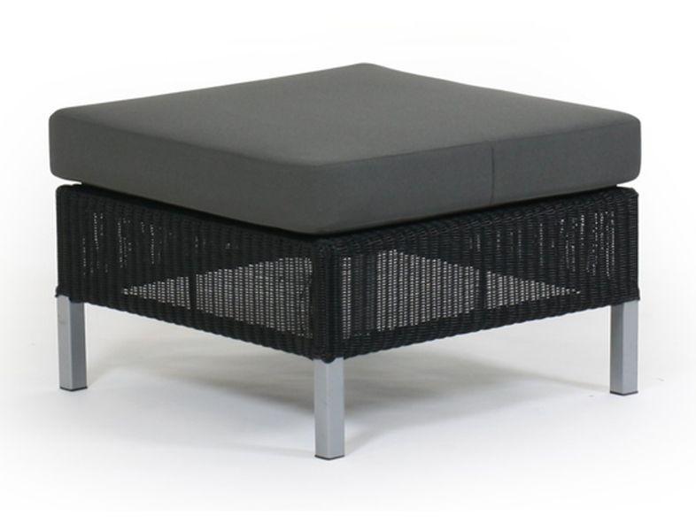 Плетеный пуф PomonaПлетеная мебель из искусственного ротанга<br>Размер: 60х60 В29,5<br><br>Артикул: 10677-8-70<br>Материалы: Искусственный ротанг<br>Каркас: Алюминиевый<br>Полный размер: 60х60 В29,5<br>Комплектация: Подушки<br>Цвет: Ротанг-черный/натуральный, Ткань-серый<br>Изготовление и доставка: 2-3 дня<br>Условия доставки: Бесплатная по Москве до подъезда<br>Условие оплаты: Оплата наличными при получении товара<br>Гарантия: 12 месяцев<br>Производство: Швеция<br>Производитель: Brafab