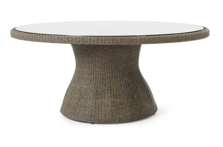 Плетеный стол Ninja-2Плетеная мебель из искусственного ротанга<br>Размер: 180х120 В74<br><br>Артикул: 3560<br>Материалы: Искусственный ротанг, высококачественное стекло<br>Каркас: Алюминиевый<br>Полный размер: 180х120 В74<br>Цвет: Natur, black, grey<br>Изготовление и доставка: 2-3 дня<br>Условия доставки: Бесплатная по Москве до подъезда<br>Условие оплаты: Оплата наличными при получении товара<br>Гарантия: 12 месяцев<br>Производство: Швеция<br>Производитель: Brafab