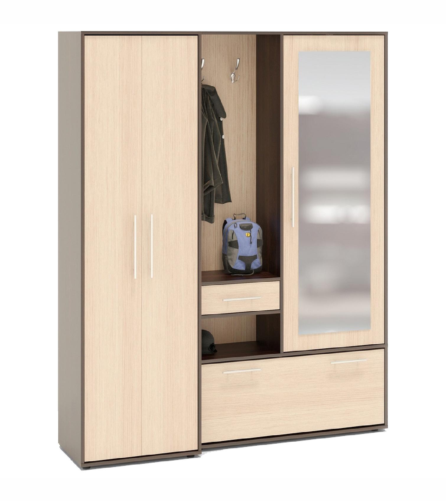 Прихожая Мальта LПрихожие<br>Размер: 1650х2020х430<br><br>Материалы: ЛДСП Kronospan - 16 мм., кромка ПВХ - 0,4 мм., зеркало<br>Полный размер (ДхВхГ): 1650х2020х430<br>Наполнение шкафа: Платьяные шкафы<br>Примечание: Доставляется в разобранном виде<br>Изготовление и доставка: 10-14 дней<br>Условия доставки: Бесплатная по Москве до подъезда<br>Условие оплаты: Оплата наличными при получении товара<br>Доставка по МО (за пределами МКАД): 30 руб./км<br>Доставка в пределах ТТК: Доставка в центр Москвы осуществляется ночью, с 22.00 до 6.00 утра<br>Подъем на грузовом лифте: 500 руб.<br>Подъем без лифта: 250 руб./этаж включая первый<br>Сборка: 10% от стоимости изделия, но не менее 1,000 руб.<br>Гарантия: 12 месяцев<br>Производство: Россия<br>Производитель: Grey