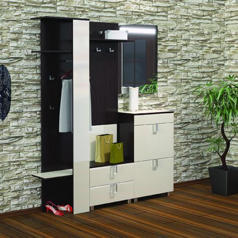 Модульная прихожая Kenner 13 композиция №1 модульная мебель композиция 7 б