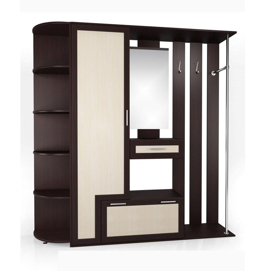 Прихожая Мебелайн-7 радиусный шкаф купе мебелайн 7