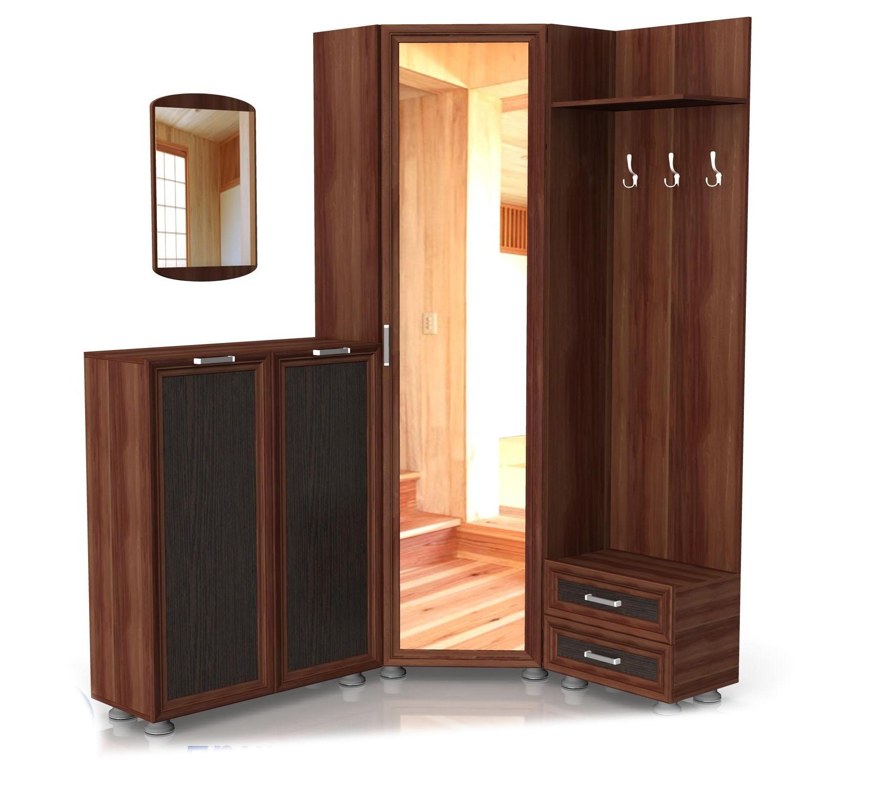 Модульная прихожая Латте композиция №3 модульная мебель композиция 7 б