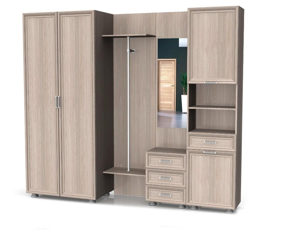 Модульная прихожая Латте композиция №5 модульная мебель композиция 7 б
