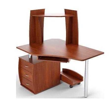 Стол компьютерный угловой с надставкой ПС 04.12.B