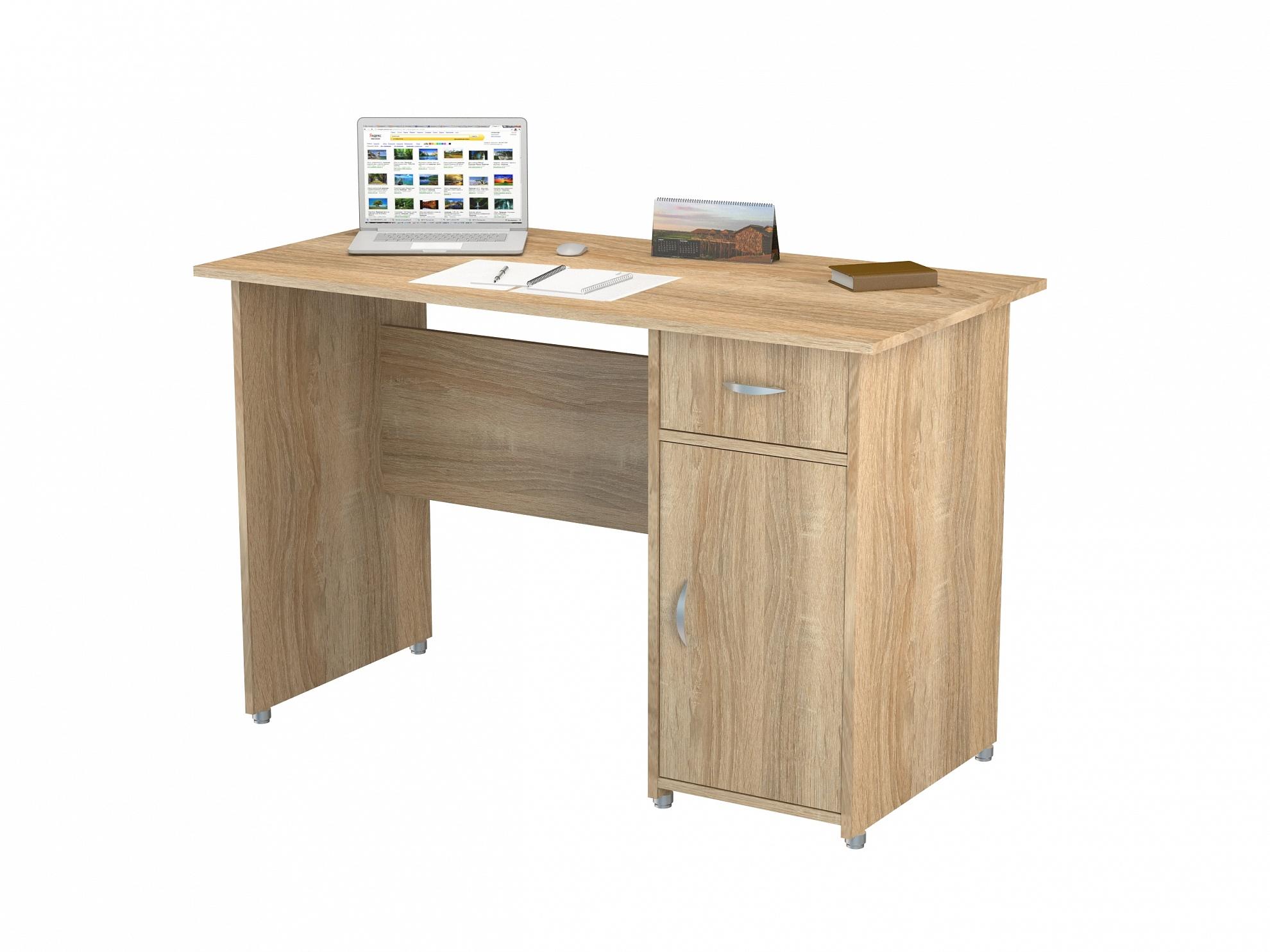 Письменный стол ПС 40-08м1Компьютерные столы<br>размер: 1200х600 В770<br><br>Материалы: ЛДСП, кромка АВС<br>Полный размер (ДхГхВ): 1200х600х770<br>Вес товара (кг): 36<br>Цвет: Венге/Дуб Молочный, Дуб Молочный, Дуб Сонома, Орех Валенсия<br>Изготовление и доставка: 2-3 дня<br>Условия доставки: Бесплатная по Москве до подъезда<br>Условие оплаты: Оплата наличными при получении товара<br>Доставка по МО (за пределами МКАД): 30 руб./км<br>Подъем на лифте: 300 руб.<br>Гарантия: 12 месяцев<br>Производство: Россия, г. Москва<br>Производитель: ВасКо (Дик)