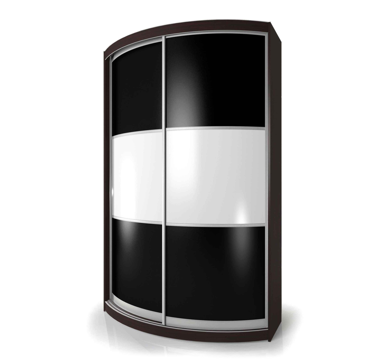 Радиусный шкаф-купе Мебелайн-4 радиусный шкаф купе мебелайн 2