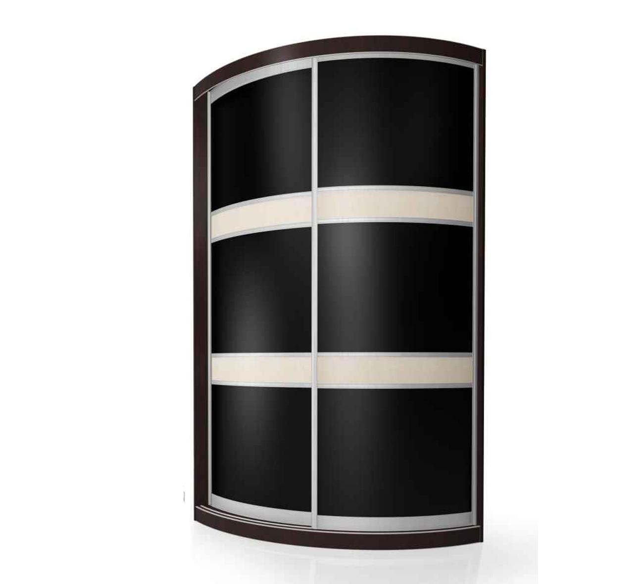 Радиусный шкаф-купе Мебелайн-2 радиусный шкаф купе мебелайн 5
