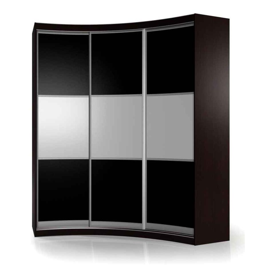 Радиусный шкаф-купе Мебелайн-17Шкафы-купе<br>Размер: 1800х2200х1200<br><br>Материалы: ЛДСП, кромка ПВХ, оргстекло, пленка Oracal<br>Полный размер (ДхВхГ): 1800х2200х1200<br>Наполнение шкафа: Белье+Платье+Белье<br>Система направляющих: Аристо<br>Примечание: Доставляется в разобранном виде<br>Изготовление и доставка: 5-7 дней, дни доставок среда и суббота<br>Условия доставки: Бесплатная по Москве до подъезда<br>Условие оплаты: Оплата наличными при получении товара<br>Доставка по МО (за пределами МКАД): 30 руб./км<br>Доставка в пределах ТТК: Доставка в центр Москвы осуществляется ночью, с 22.00 до 6.00 утра<br>Подъем на грузовом лифте: 500 руб<br>Подъем без лифта: 250 руб./этаж включая первый<br>Сборка: 15% от стоимости изделия<br>Гарантия: 12 месяцев<br>Производство: Россия<br>Производитель: Мебелайн