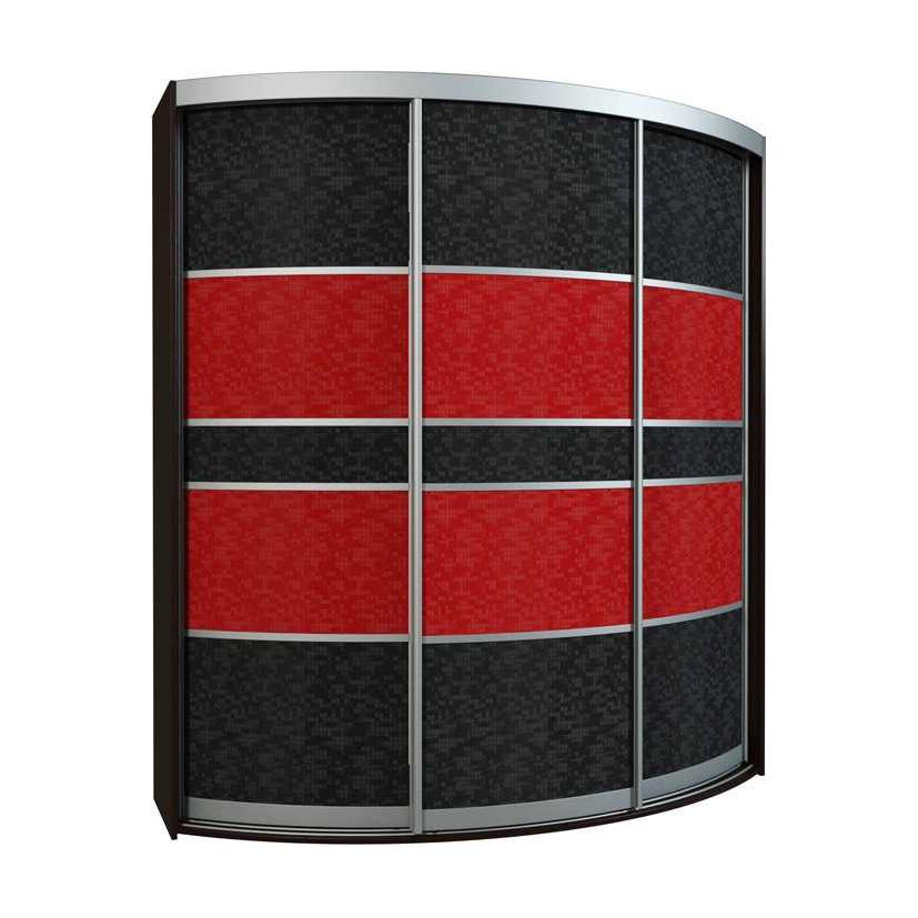 Радиусный шкаф-купе Севилья 3-2 радиусный шкаф купе мебелайн 7