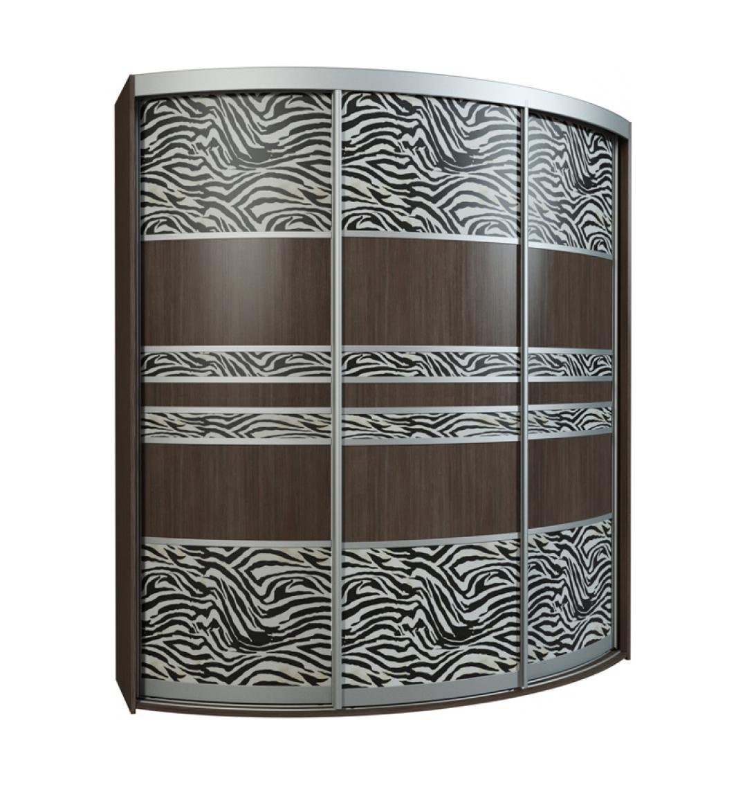 Радиусный шкаф-купе Севилья 3-3 радиусный шкаф купе мебелайн 7
