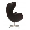 ������ Egg Chair Dark Brown