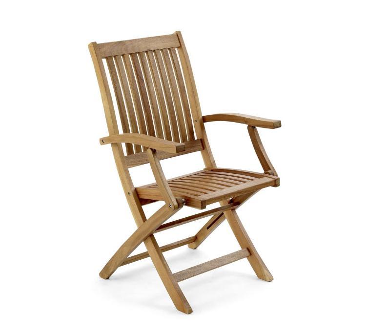 Кресло из акации Everton-2 (Brafab)