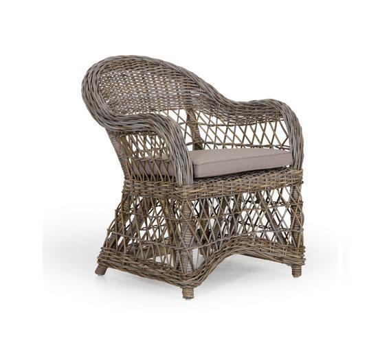 Плетеное кресло из ротанга Sanna (Brafab)